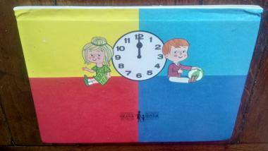 Dean's Tell the Time pop-up book